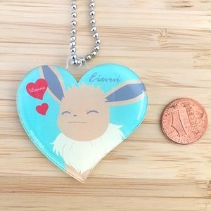 Rare limited edition pokemon eevee keychain
